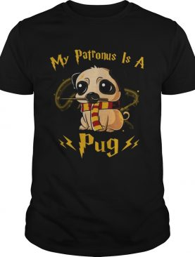 Harry potter my patronus is a Pug T-shirt's