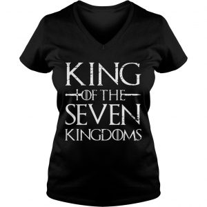 King of the seven kingdoms Ladies Vneck