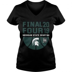 Michigan State Spartans Final Four 2019 Ladies Vneck