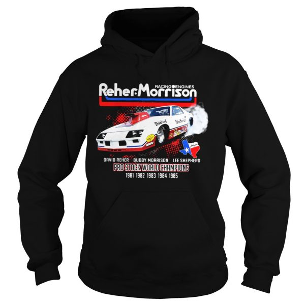 Racing engines Reher Morrison David Reher Buddy Morrison Lee Shepherd Hoodie