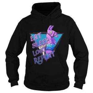 Eat Sleep Loot Repeat Hoodie