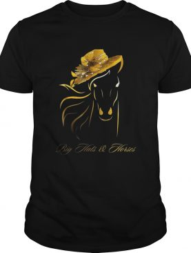 Big hats and horses shirt