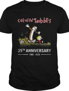 Calvin and Hobbes 35th anniversary 1985 – 2020 shirt