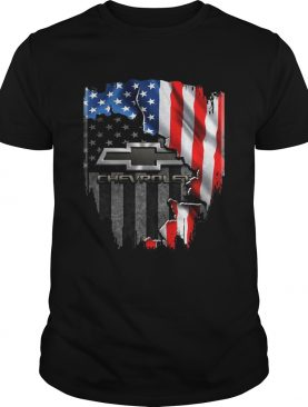 Chevrolet American Flag Inside shirt
