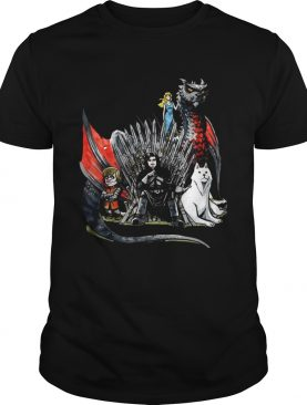 Daenerys Targaryen Jon Snow and Tyrion Lannister Game of Thrones shirt
