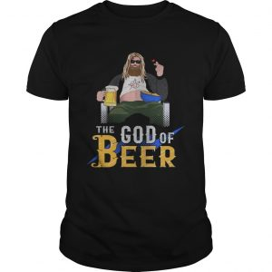 Guys Fat thor the God of beer shirt