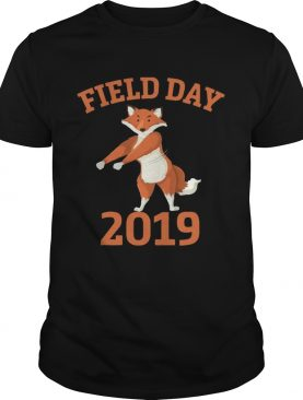 Field Day 2019 Flossing Fox Funny T-shirt