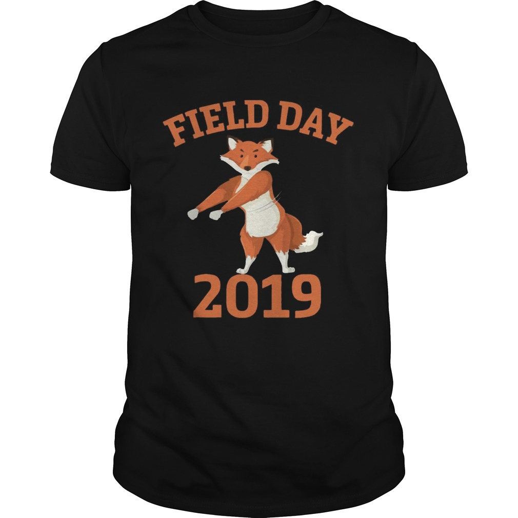 bd9e8cceb Field Day 2019 Flossing Fox Funny T-shirt - Trend T Shirt Store Online