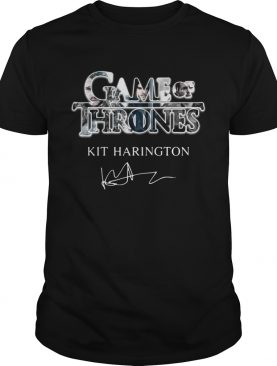 Game of Thrones Kit Harington Jon Snow signature Shirt