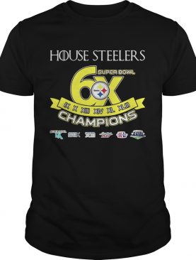 House Steelers Super Bowl Champions Steelers Pittsburgh Game Of Thrones – T-shirt