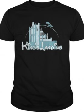 King's Landing Game of Thrones and Disney shirt