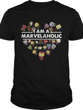 Official I am a Marvelaholic shirt