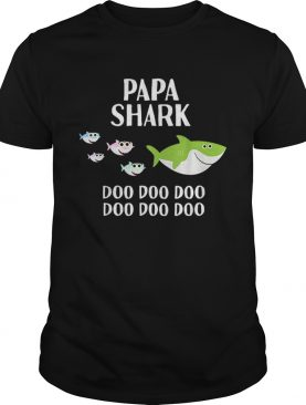 Papa Shark Doo Doo shirt
