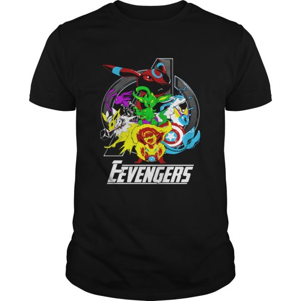 Guys Pokemon Eevengers Endgame shirt