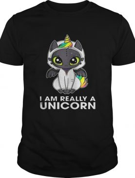 Toothless I am really a Unicorn shirt