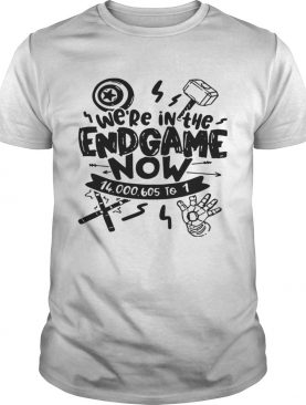 We're In The Endgame Now T-shirt