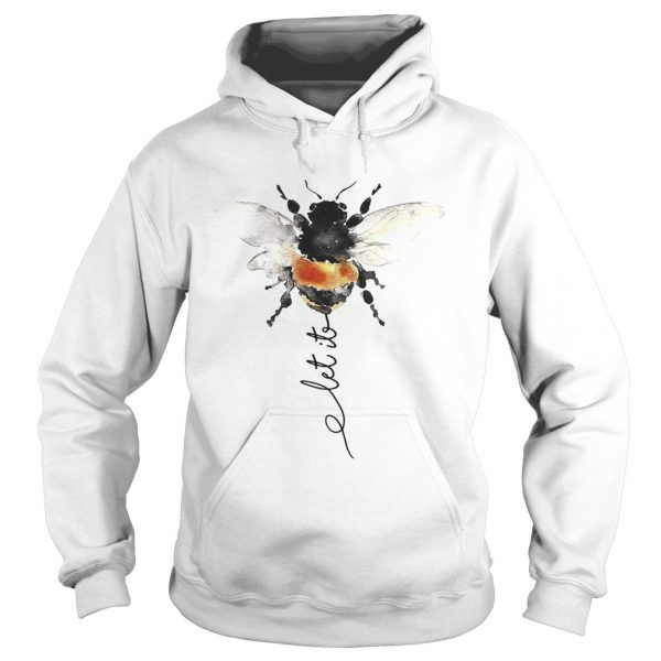 Hippie Bee Let It Be Hoodie