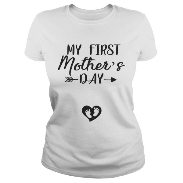 My First Mothers Day Ladies Tee