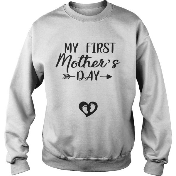 My First Mothers Day Sweatshirt