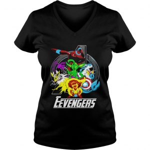 Pokemon Eevengers Endgame Ladies Vneck