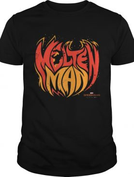 Awesome Marvel Spiderman Far From Home Molten Man Premium shirt