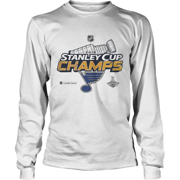 Blue Stanley Cup Champs 2019  LongSleeve