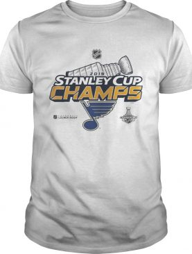 Blue Stanley Cup Champs 2019 shirt