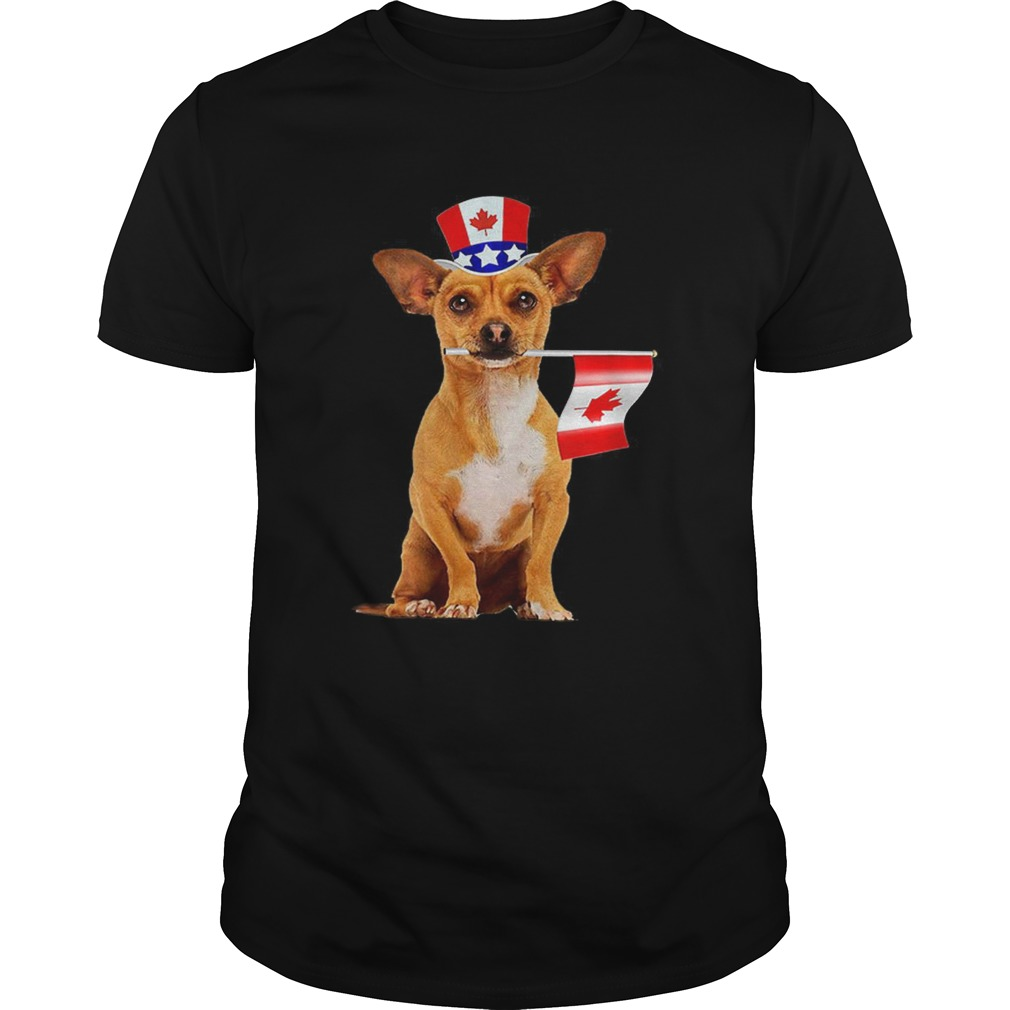 CanadaMaple Leaf Chihuahua Canadian Flags Unisex