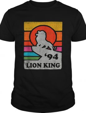 Disney The Lion King Pride Rock Retro Line shirt
