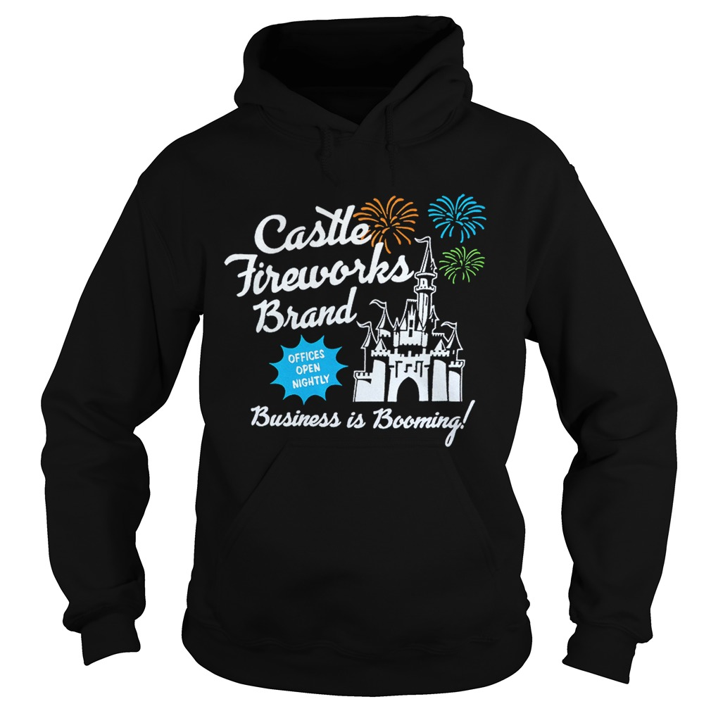 Fantasyland Castle fireworks brand business is booming Hoodie