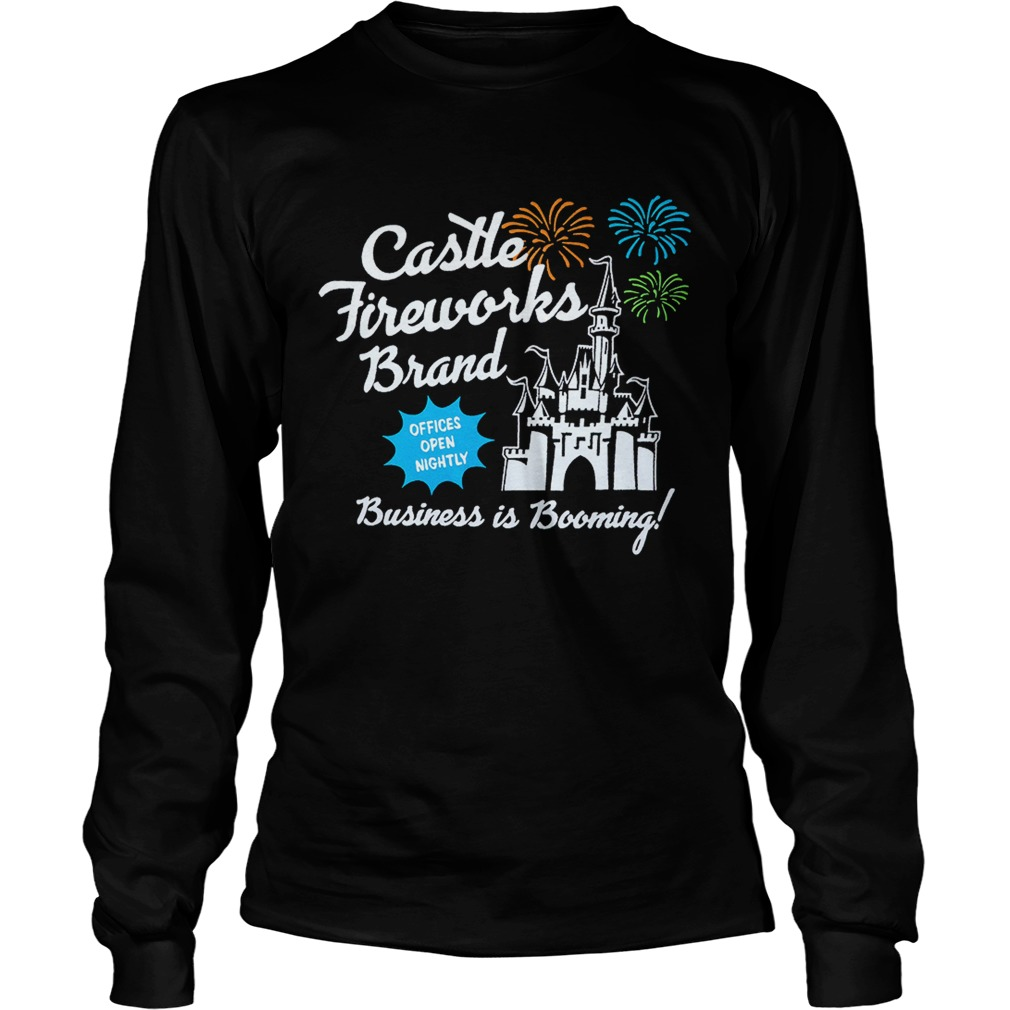 Fantasyland Castle fireworks brand business is booming LongSleeve