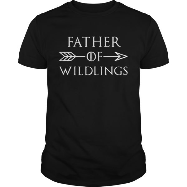 Fathers Day Gift T Dad Of Wildlings Personalization Kids Names t  Unisex
