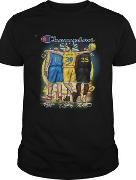 Golden State Warriors Champion Thomson Curry Durant shirt