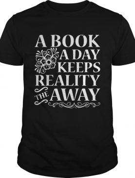 A book a day keeps reality the away shirt