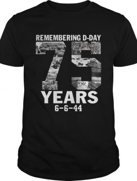 Remembering d-day 75 years 6 6 44 shirt