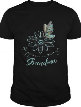 Happiness is being a Grandma shirt