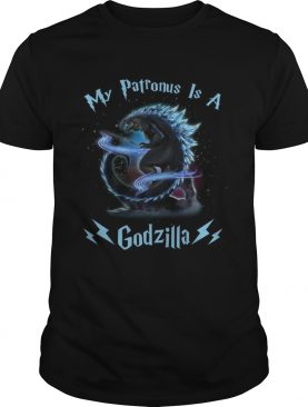 Harry Potter my Patronus is a Godzilla shirt