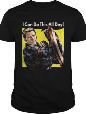 I Can Do This All Day Captain America Shirt