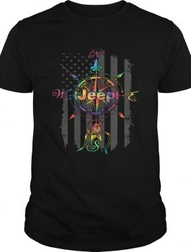 Jeep compass America flag shirt