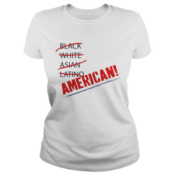 Joy Villa Black White Asian Latino American Shirt Classic Ladies