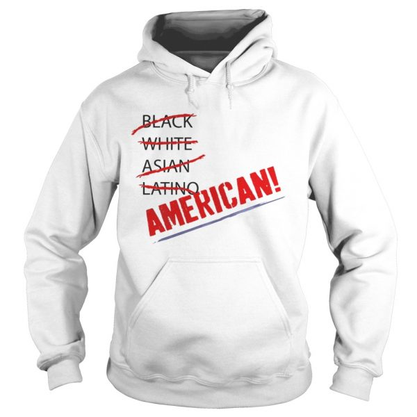 Joy Villa Black White Asian Latino American Shirt Hoodie