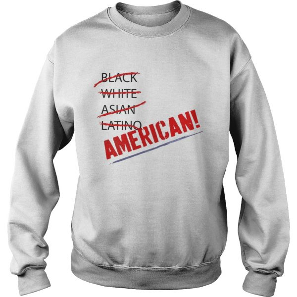 Joy Villa Black White Asian Latino American Shirt Sweatshirt