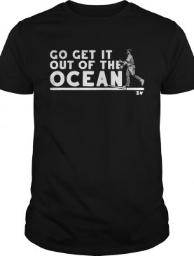 Max Muncy go getit out of the ocean baseball shirt