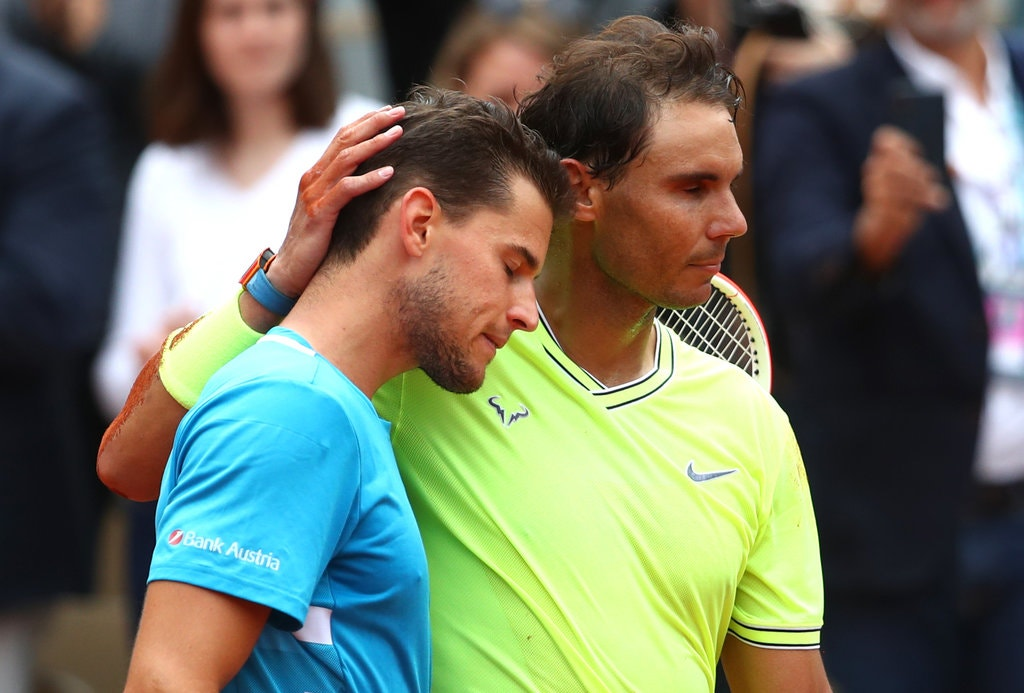 Nadal defeated Dominic Thiem in the final for the second year in a row.
