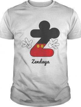 Personalized Name Z Begins Mickey Hat Funny TShirt