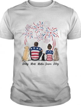 Rocky Matt Millie Susan Riley shirt
