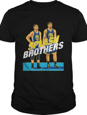 Splash Brothers Stephen Curry Klay Thompson shirt