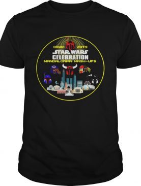 Star Wars Celebration Chicago 2019 Mandalorian Mash Ups shirt