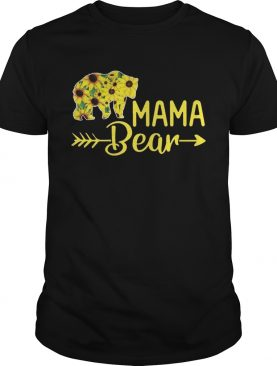 Sunflower mama bear shirt
