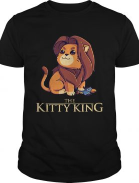 The Kitty King The Lion King shirt